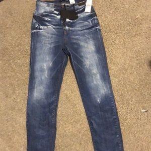 Fashion nova washed skinny jeans